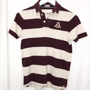 Abercrombie Short Sleeve Muscle Fit Boys Large